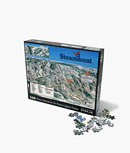 Steamboat Jigsaw Puzzle 500 Piece Ski Resort Jigsaw Puzzle (Best Cheap Ski Resorts)