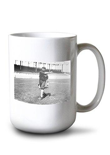 (Lantern Press Jack Fournier, Chicago White Sox, Baseball Photo (15oz White Ceramic Mug) )