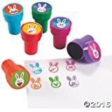 Emoji Face Bunny Stampers - 24 ct