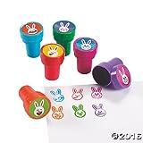 Emoji Face Bunny Stampers - 24 ct