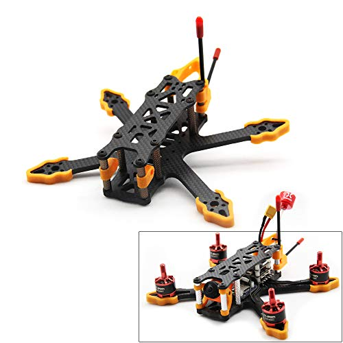 Usmile GX140 140mm Drone Frame Designed for Rumcam Split Mini 2 Caddx Turtle V2 1080P HD FPV Camera Micro 3 inch…