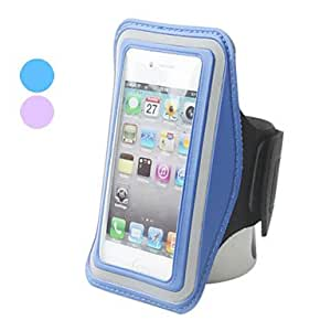 Novelty Waterproof Sport Armband for iPhone 4, 4S and iPod Touch 4 (Assorted Colors) --- COLOR:Purple