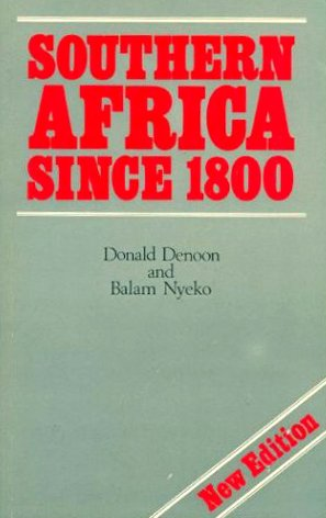 Southern Africa Since 1800