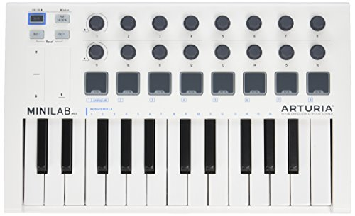 Arturia MiniLab MkII 25 Slim-Key Controller -