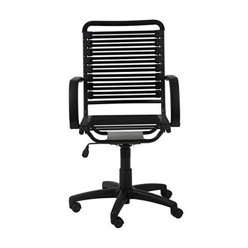 Modern Black Bungee-Back Office Chair