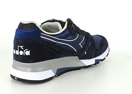 Diadora Heren N9000 Nyl Ii Sportschoen Kentekens Blauw / Negen Ijzer
