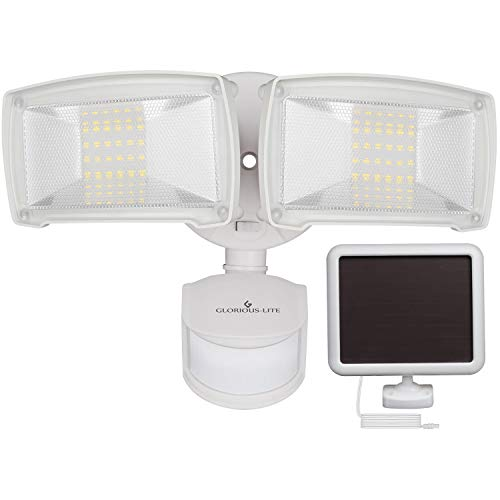 Outdoor Motion Sensing Solar Powered Security Light in US - 4