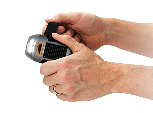 upc 733158600616 product image for Duracell 60-061 Micro V2 Rechargeable Solar and Crank LED Flashlight