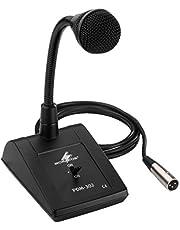 Monacor 5 m PA desktop-microfoon met zwanenhals
