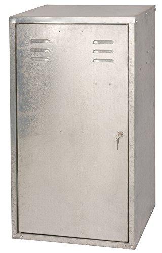 Kerbl 32707 Sattelschrank für 2 Sättel, 60 x 60 x 106 cm