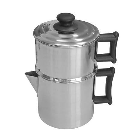 Amazon.com: lindys Cafetera de goteo de acero inoxidable con ...