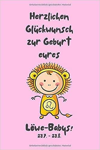 Herzlichen Glückwunsch Zur Geburt Eures Löwe Babys