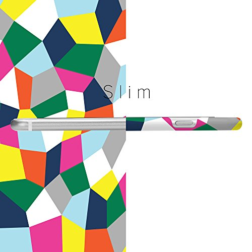 iPhone 7 Hülle, GMYLE schwer Fall Cover Glossy für Apple iPhone 7 - [geometrische Muster] Ultra Slim wieder decken Hartschalenkoffer