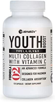Collagen Pills For Skin Hair And Joints Rejuvenation With Collagen Peptides And Vitamin C Battles Signs Of Aging By Nourishing Your Body For Younger Skin Stronger Hair Healthier Joints and Leaner Body