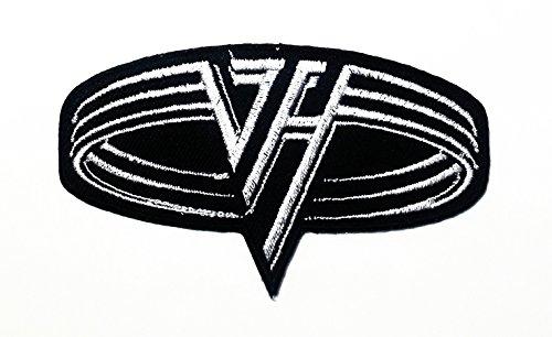 3.5x2 Inches VAN Halen Fuzzy Heavy Metal Rock Punk Music Ban
