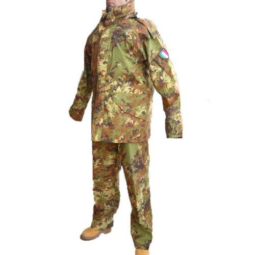 Salopette Militare Fratelliditalia Vegetato Completo Parka Impermeabile Goretex Pantalone qIqx4twg