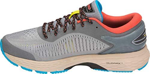 ASICS Gel-Kayano 25 Men's Running Shoe, Stone Grey/Black, 6 D US by ASICS (Image #4)