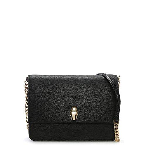 Shoppers Y T De Hombro Negro b 17x28x33 Bolsos Cavalli Class H X Cm Mujer Corinne black ISxpBt
