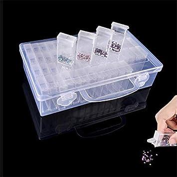 Empty Display Plastic Box Storage Containers for diamond//gems