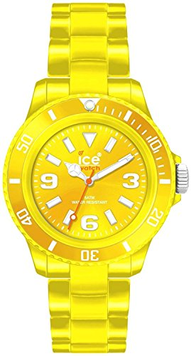 Yellow Dial - Ice-Watch Classic Solid Yellow Dial Unisex watch #CS.YW.U.P.10