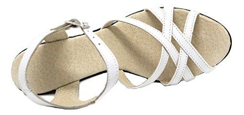 Ks 163 Summer sandalias Zapatos The de mujer con mujer para White pTgxOprqw