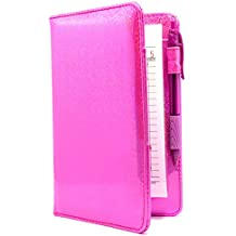 Server Book Brand Hot Pink Sparkle Metallic 5