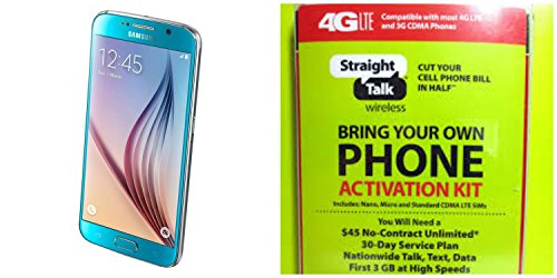 (Straight Talk Samsung galaxy S6 32GB