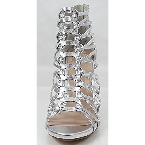 28fec31a25b Delicious Women s Open Toe Strappy High Heel Sandal good ...