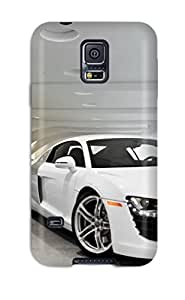 Galaxy S5 Case Slim [ultra Fit] Audi R8 6 Protective Case Cover