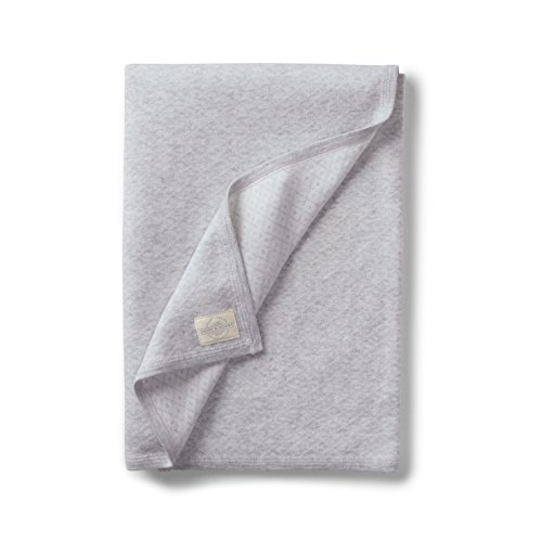 Hope & Henry Layette Diamond Jacquard Knit Blanket