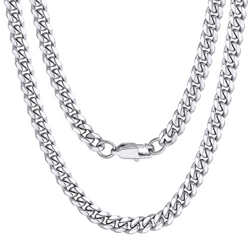 Chain Necklaces for Men Stainless Steel 24