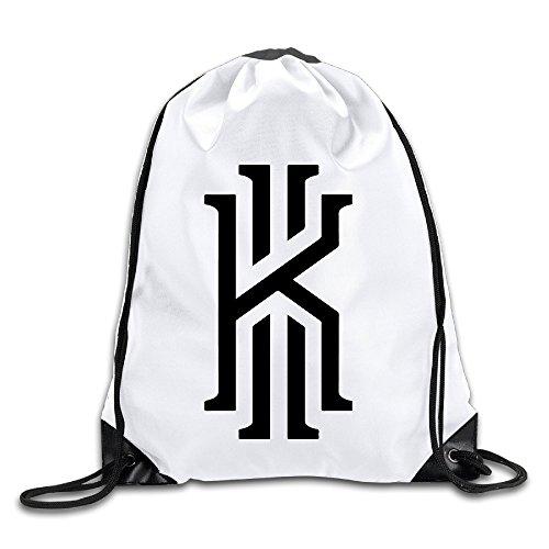 BYDHX Kyrie Lrving Logo Drawstring Backpack Bag (Chanel Drawstring)