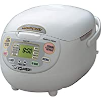 Deals on Zojirushi NS-ZCC18 10-Cup Neuro Fuzzy Rice Cooker 1.8-Liters