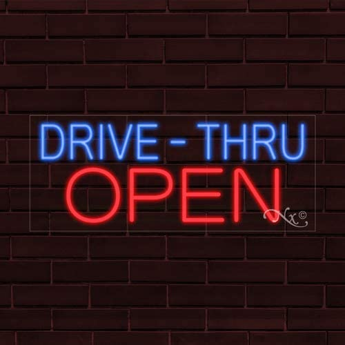 32x13x1 in Ice Cream Cakes Flashing LED Flex Window Sign Includes Inline Remote Control