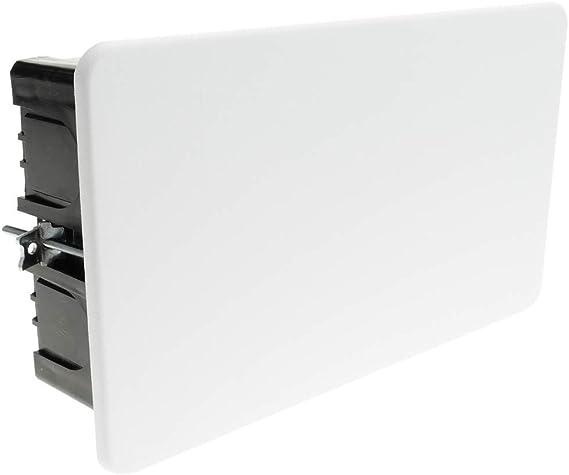 BeMatik - Caja empotrada de Registro Rectangular 200 x 130 x 60 mm para Paredes Huecas: Amazon.es: Electrónica