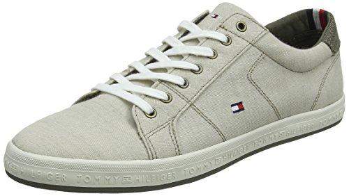 Herren Denim Tommy Cobblestone 068 Sneaker Hilfiger Beige Pique Essential UvBnf5WBa