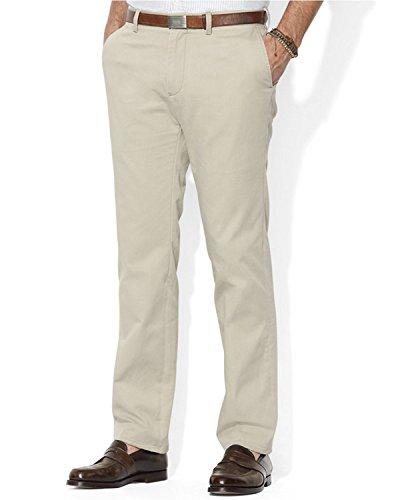 Polo Ralph Lauren Men's Big & Tall Classic Fit Chino Pants 50B x 32L Hudson Tan ()