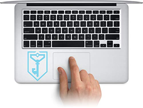 WallDecalArtStudio Ingress Logo Resistance Vinyl Decal Laptop Trackpad Keypad Sticker Window Water Bottle Cup Car Decals Made in US (Message for Color) ()