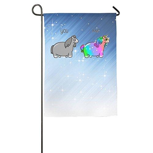 ESP Decor Bisexual Winter Lawn Yard House Garden Flags 12 X