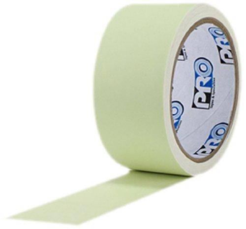 ProTapes Pro Glow Fluorescente cinta brilla en la oscuridad de Vinilo, 18Mils, 5Yardas longitud x Ancho de 1' (Pack de 1)