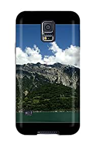 For Galaxy S5 Tpu Phone Case Cover(switzerland Mountains)