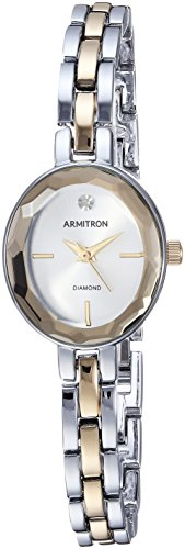 Armitron Women's 75/5508SVTT Two-Tone Bracelet Watch