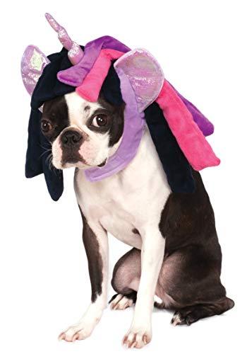 Rubie's My Little Pony Twilight Sparkle Hood Pet Costume, Small/Medium]()