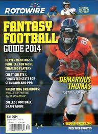 Rotowire Fantasy Football Guide Fall 2014