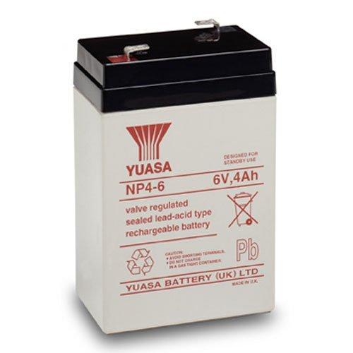 Yuasa 6V 4AH AGM Lead Acid Battery by YUASA