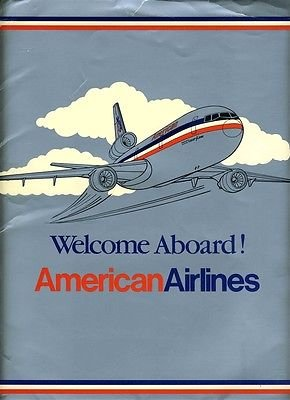 Welcome Aboard American Airlines New Hire Packet 1986 + Rules Cards & More