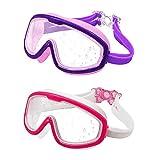 Best Kids Swim Masks - MOTOEYE Kids Swim Goggles Pack of 2,for Children Review
