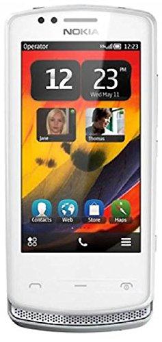 Nokia Gsm Phone (Nokia 700 Silver/White 5MP International Version GSM)