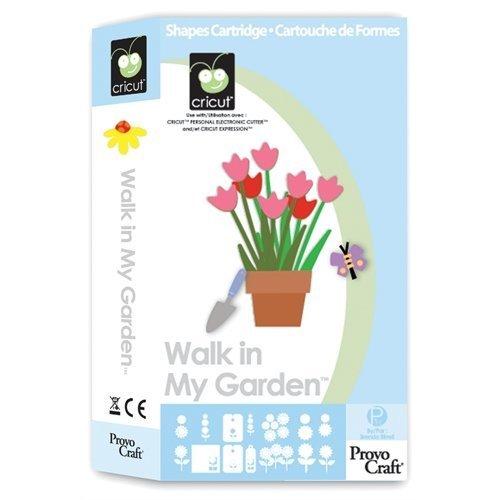 Cricut 29-0223 Walk in My Garden Shape Cartridge by Cricut