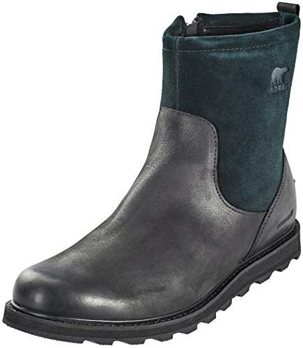 Sorel Mens Madson Zip Waterproof Black Tobacco Boot - 13
